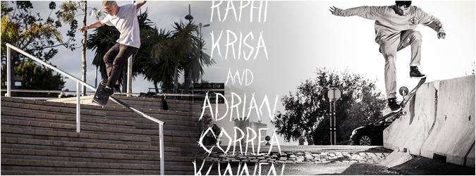 Adrian Correa-Kunnen Raphi Krisa weareconfus confus skateboarding vienna